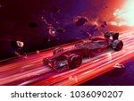 3d render illustration f1... | Shutterstock . vector #1036090207