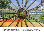 Wheel Structure Inside Pagoda...