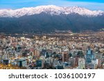panoramic view of providencia... | Shutterstock . vector #1036100197
