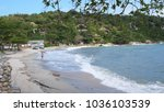 beautiful tropical beach on the ... | Shutterstock . vector #1036103539