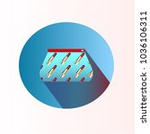 vector illustration. stationery ... | Shutterstock .eps vector #1036106311