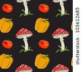 vector summer background with... | Shutterstock .eps vector #103612685