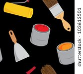 vector construction background  ... | Shutterstock .eps vector #103613501
