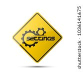 set service icons image of... | Shutterstock .eps vector #1036141675