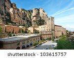 View Of Montserrat Monastery....