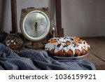 still life composition with... | Shutterstock . vector #1036159921