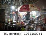 krabi  thailand   jan 28  2018  ... | Shutterstock . vector #1036160761