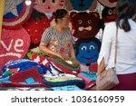 krabi  thailand   jan 28  2018  ... | Shutterstock . vector #1036160959