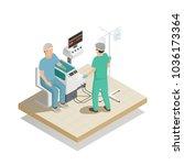 organs repair and regeneration... | Shutterstock .eps vector #1036173364