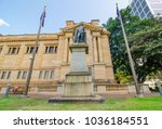 Small photo of SYDNEY, AUSTRALIA. – On March 01, 2018. - Statue of Lieutenant General Sir Richard Bourke, K.C.B. is erected by the people of New South Wales to record his able honest and benevolent administration.