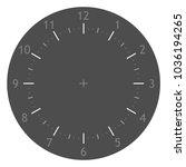 dark simple minimal clock vector   Shutterstock .eps vector #1036194265
