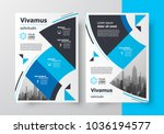 flyer brochure design template... | Shutterstock .eps vector #1036194577