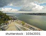 boardwalk behind the citadel of ... | Shutterstock . vector #10362031