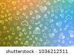 light blue  green vector... | Shutterstock .eps vector #1036212511