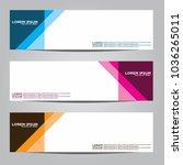 vector design banner... | Shutterstock .eps vector #1036265011
