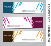 vector design banner... | Shutterstock .eps vector #1036265035