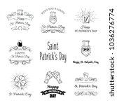saint patrick s day cartoon...   Shutterstock .eps vector #1036276774