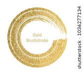 gold round design templates for ... | Shutterstock .eps vector #1036277134