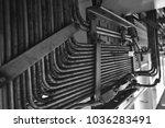 instrument tubing air supply... | Shutterstock . vector #1036283491