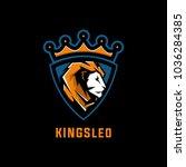lion logo vector | Shutterstock .eps vector #1036284385