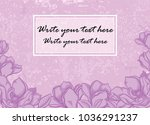 vector graphic invitation on...   Shutterstock .eps vector #1036291237