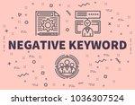 conceptual business... | Shutterstock . vector #1036307524