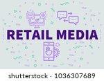 conceptual business...   Shutterstock . vector #1036307689