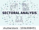 conceptual business... | Shutterstock . vector #1036308451