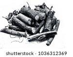 close up of ayurvedic herb... | Shutterstock . vector #1036312369