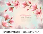 abstract spring background with ... | Shutterstock .eps vector #1036342714