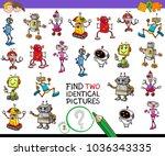 cartoon illustration of finding ...   Shutterstock .eps vector #1036343335