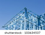 new residential construction... | Shutterstock . vector #103634537