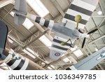 new orleans  feb 21  interior... | Shutterstock . vector #1036349785