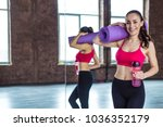 sport is cool. healthy... | Shutterstock . vector #1036352179