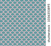 fish scale seamless pattern.... | Shutterstock .eps vector #1036353895