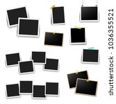 photo frame big set  | Shutterstock . vector #1036355521