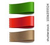 colorful labels set  | Shutterstock . vector #1036355524