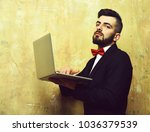 classic businessmans work.... | Shutterstock . vector #1036379539