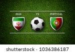 football match schedule  iran... | Shutterstock . vector #1036386187