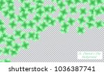 st. patrick s day background.... | Shutterstock .eps vector #1036387741