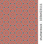 seamless abstract pattern with...   Shutterstock .eps vector #1036423111