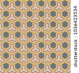 seamless geometric pattern...   Shutterstock .eps vector #1036423534