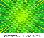 green comic book style vector...   Shutterstock .eps vector #1036430791