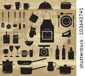 âgés de,tablier,noir,bouteille,cuisson,coupe,coutellerie,endommagé,sale,plat,vaisselle,élément,alimentaire,verre,graphique