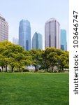 shanghai grassland building | Shutterstock . vector #103646747