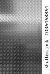 diamond plate  anti slip metal... | Shutterstock . vector #1036468864