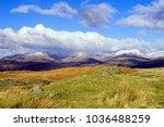 fairfield horseshoe viewed from ... | Shutterstock . vector #1036488259
