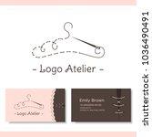 branding for the fashion... | Shutterstock .eps vector #1036490491