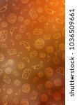 light orange vertical...   Shutterstock . vector #1036509661