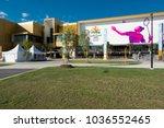 metricon stadium ready to... | Shutterstock . vector #1036552465